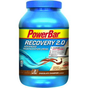 PowerBar Recovery Regeneration Drink 2.0 Sport Ernæring Chocolate Champion 1144g